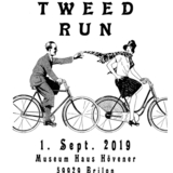 Tweed Run 2019 in Brilon